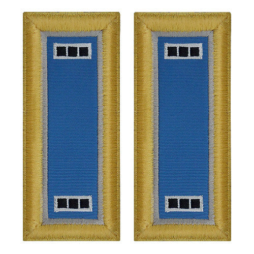 Army Shoulder Strap: Warrant Officer 3: Military Intelligence - female