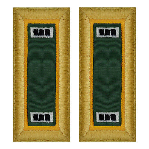 Army Shoulder Strap: Warrant Officer 3: Military Police - female