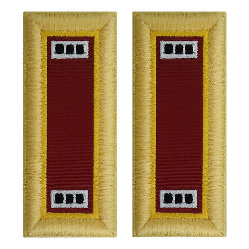 Army Shoulder Strap: Warrant Officer 3: Transportation - female