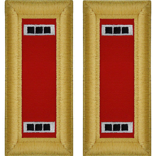 Army Shoulder Strap: Warrant Officer 3: Artillery