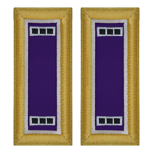 Army Shoulder Strap: Warrant Officer 3: Civil Affairs - female