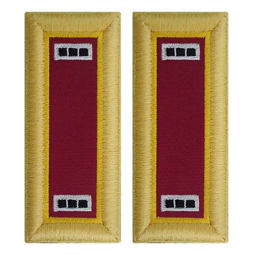 Army Shoulder Strap: Warrant Officer 3: Ordnance - female