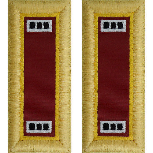 Army Shoulder Strap: Warrant Officer 3: Transportation