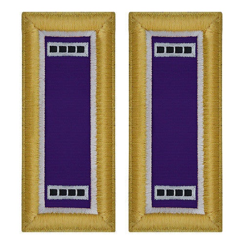 Army Shoulder Strap: Warrant Officer 4: Civil Affairs - female
