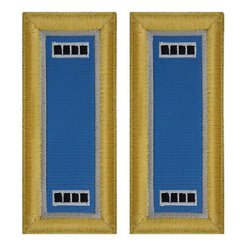 Army Shoulder Strap: Warrant Officer 4: Military Intelligence - female