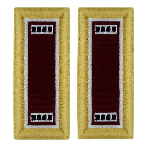 Army Shoulder Strap: Warrant Officer 4: Medical - female