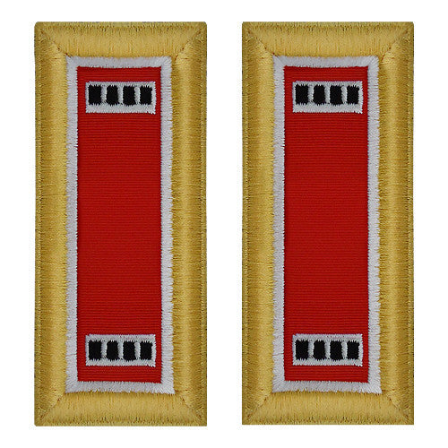 Army Shoulder Strap: Warrant Officer 4: Engineer - female