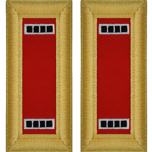 Army Shoulder Strap: Warrant Officer 4: Artillery