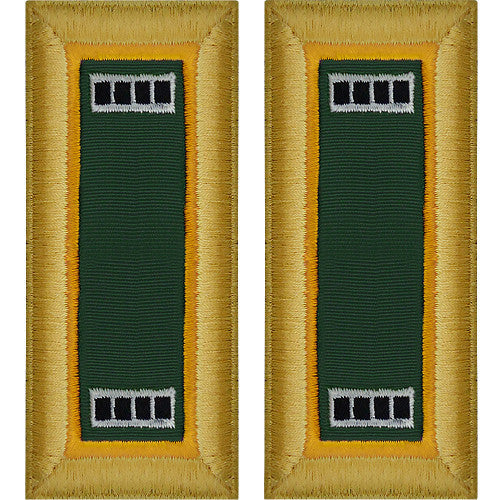 Army Shoulder Strap: Warrant Officer 4: Military Police