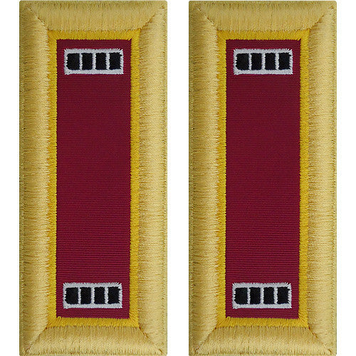 Army Shoulder Strap: Warrant Officer 4: Ordnance