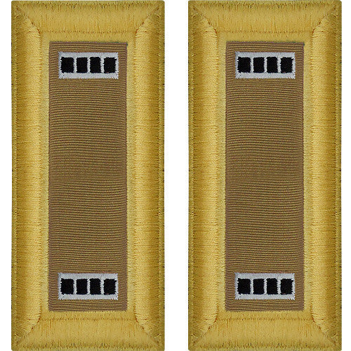 Army Shoulder Strap: Warrant Officer 4: Quartermaster