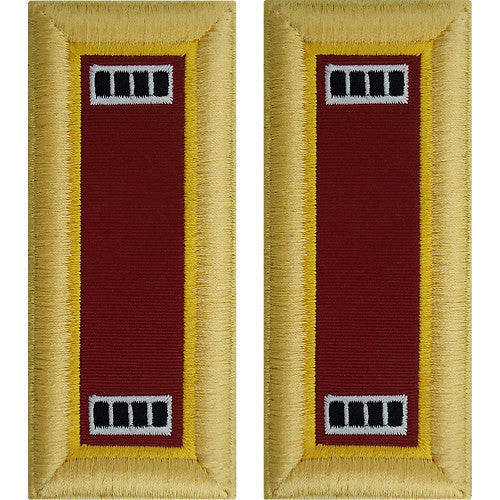 Army Shoulder Strap: Warrant Officer 4: Transportation