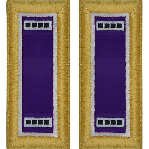 Army Shoulder Strap: Warrant Officer 4: Civil Affairs