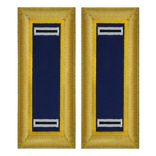 Army Shoulder Strap: Warrant Officer 5: Chemical - female