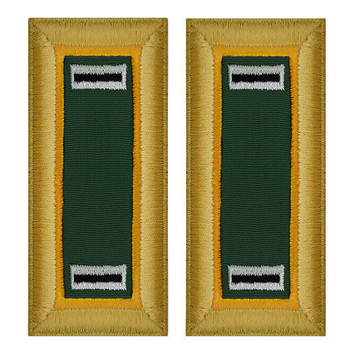 Army Shoulder Strap: Warrant Officer 5: Military Police - female