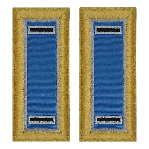 Army Shoulder Strap: Warrant Officer 5: Military Intelligence - female