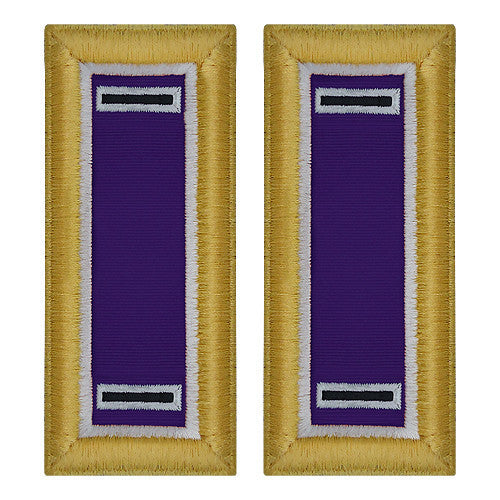 Army Shoulder Strap: Warrant Officer 5: Civil Affairs - female