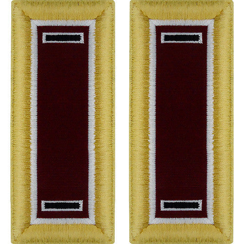 Army Shoulder Strap: Warrant Officer 5: Medical