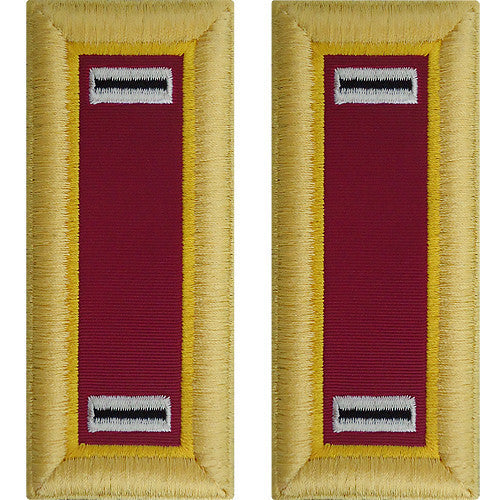 Army Shoulder Strap: Warrant Officer 5: Ordnance