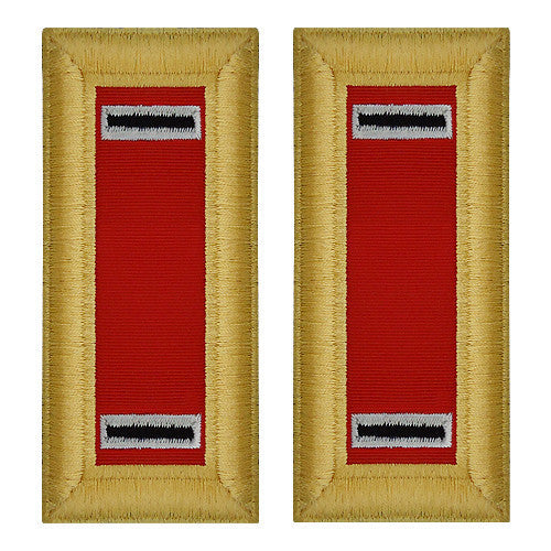 Army Shoulder Strap: Warrant Officer 5: Artillery - female