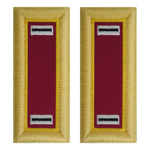 Army Shoulder Strap: Warrant Officer 5: Ordnance - female