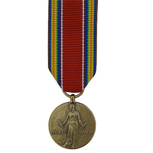 Miniature Medal: WWII Victory
