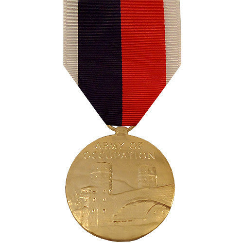 Full Size Medal: Army and Air Force WWII Occupation - anodized