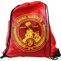 Young Marines Large Drawstring Backpack