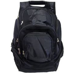 Young Marines Black Backpack: Plain