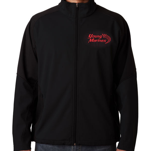 YOUNG MARINES: Ultra Club Water Resistant Jacket w/Stacked Swoosh Logo