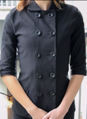 Short Sleeve Classic Chef Jacket