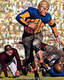 Bears Illinois RED GRANGE Color  0224