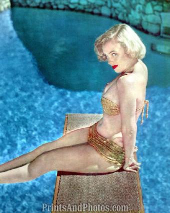 MARILYN MONROE Beautiful 50s Pinup 0285