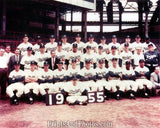 1955 Brooklyn Dodgers Team  0312 - Prints and Photos