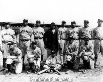 Negro League BALTIMORE BLACK SOX  0341