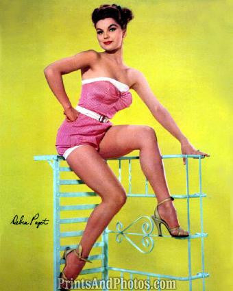 Actress DEBRA PAGET 1950s Pinup 0347