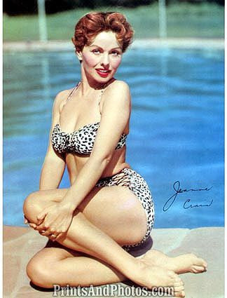 Actress JEANNE CRAIN 50s Pinup 0351