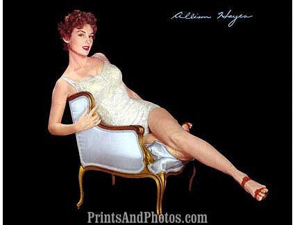 Gorgeous  Allison Hayes 50s  Pinup 0361