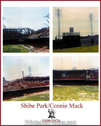 Connie Mack Shibe Stadium Demo  0413