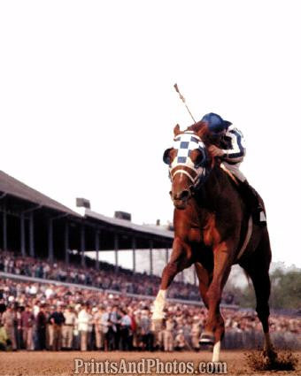 SECRETARIAT Triple Crown Derby Win  0618