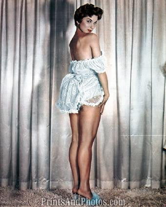 Lovely DEBRA PAGET 50s Pinup 0741