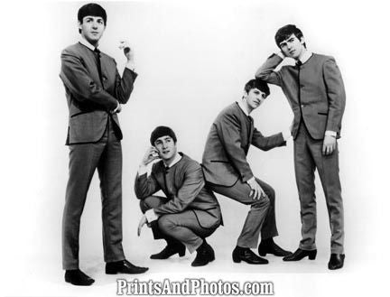 Beatles 1964 B&W  0742