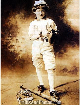 Baseball Turn of The Century Player  0786
