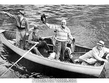 President HARRY TRUMAN Fishing  0787
