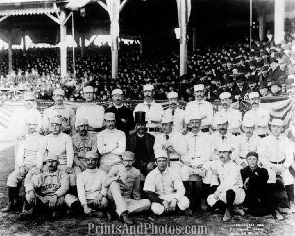 1886 BOSTON BEANEATERS & Giants 0789