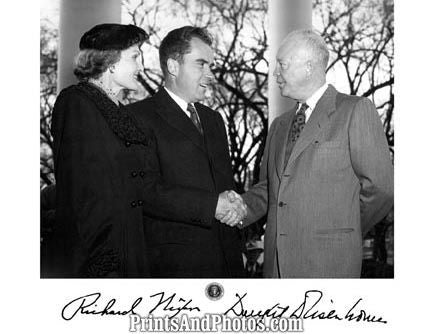 Presidents NIXON & EISENHOWER  0794