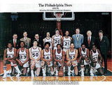 SIXERS 77-78  w/ Julius Erving 0807