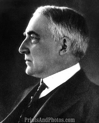 WARREN G HARDING 29th President  0826