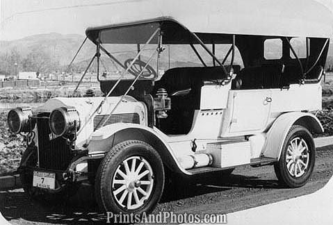 1910 White Automobile 7 Pass Sedan  0874