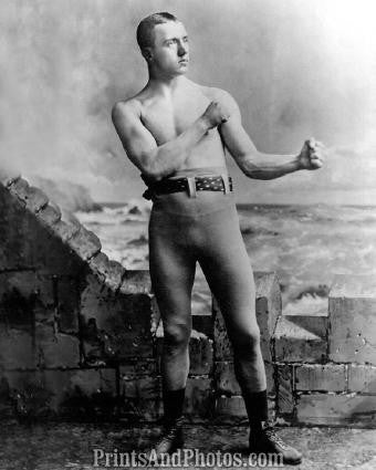 Early Boxer Charles Mitchell 1886  0888
